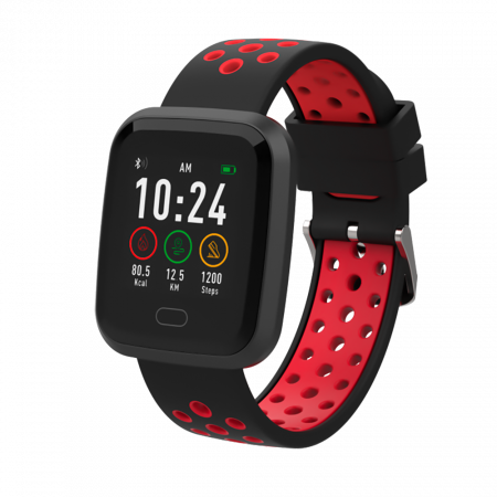 NWATCH Black-Red